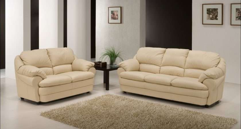 Bianca Contemporary Leather Sofa Suite Sofas Fabric