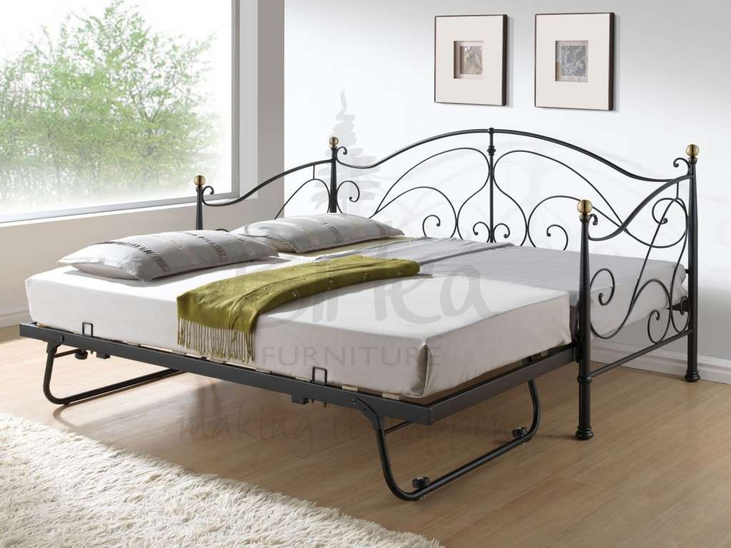 Birlea Milano Daybed Trundle Off Mattress