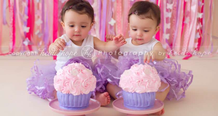 Birthday Year Old Twins Celebrate Their First