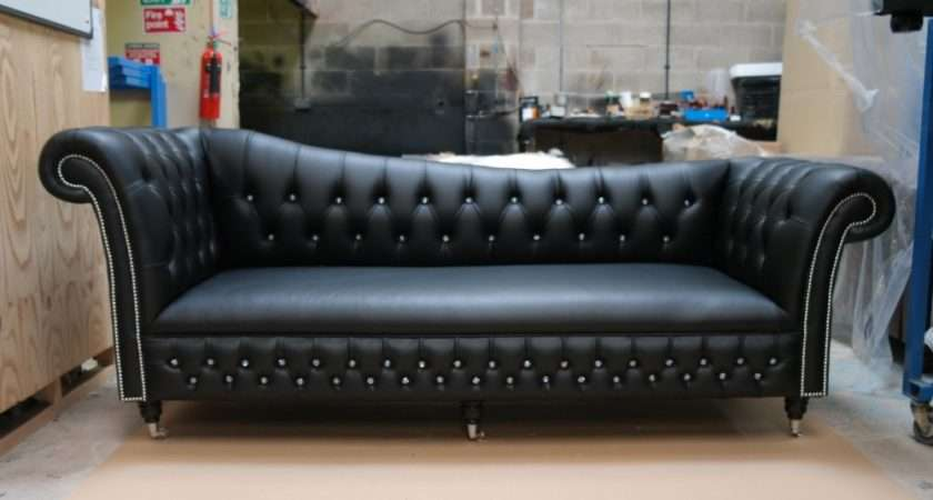 Black Chesterfield Sofa Published August