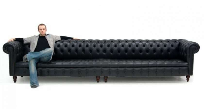 Black Chesterfield Sofa Themed Furniture Hire