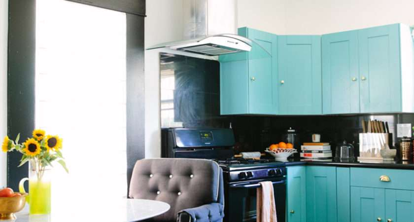 Black Lacquer Design House Turquoise