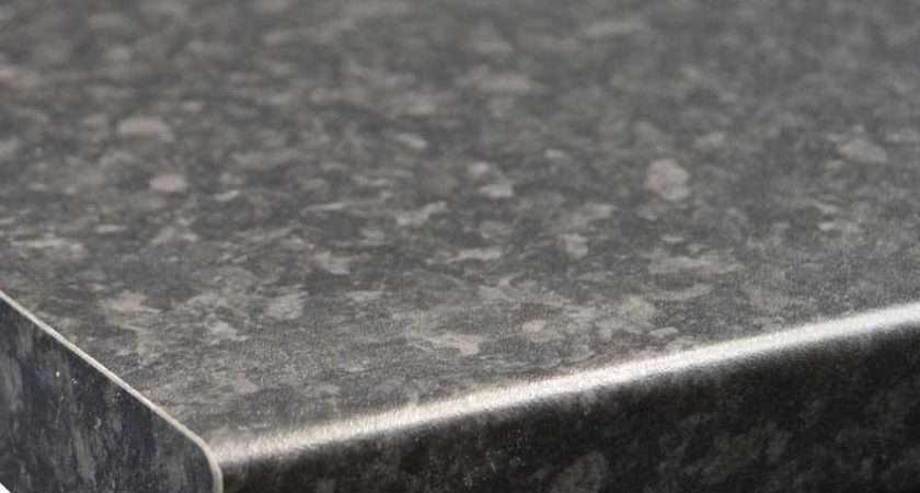 Black Slate Granite Matt Laminate Kitchen Worktop