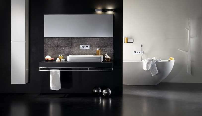 Black White Bathroom Design Inspirations Digsdigs