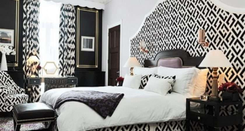 Black White Bedroom Decorating Ideas Inspire Home Design
