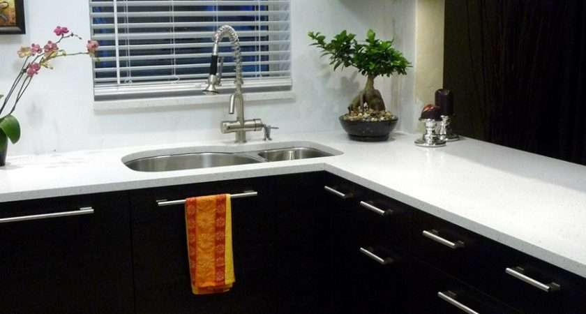 Black White Kitchen Cabinet