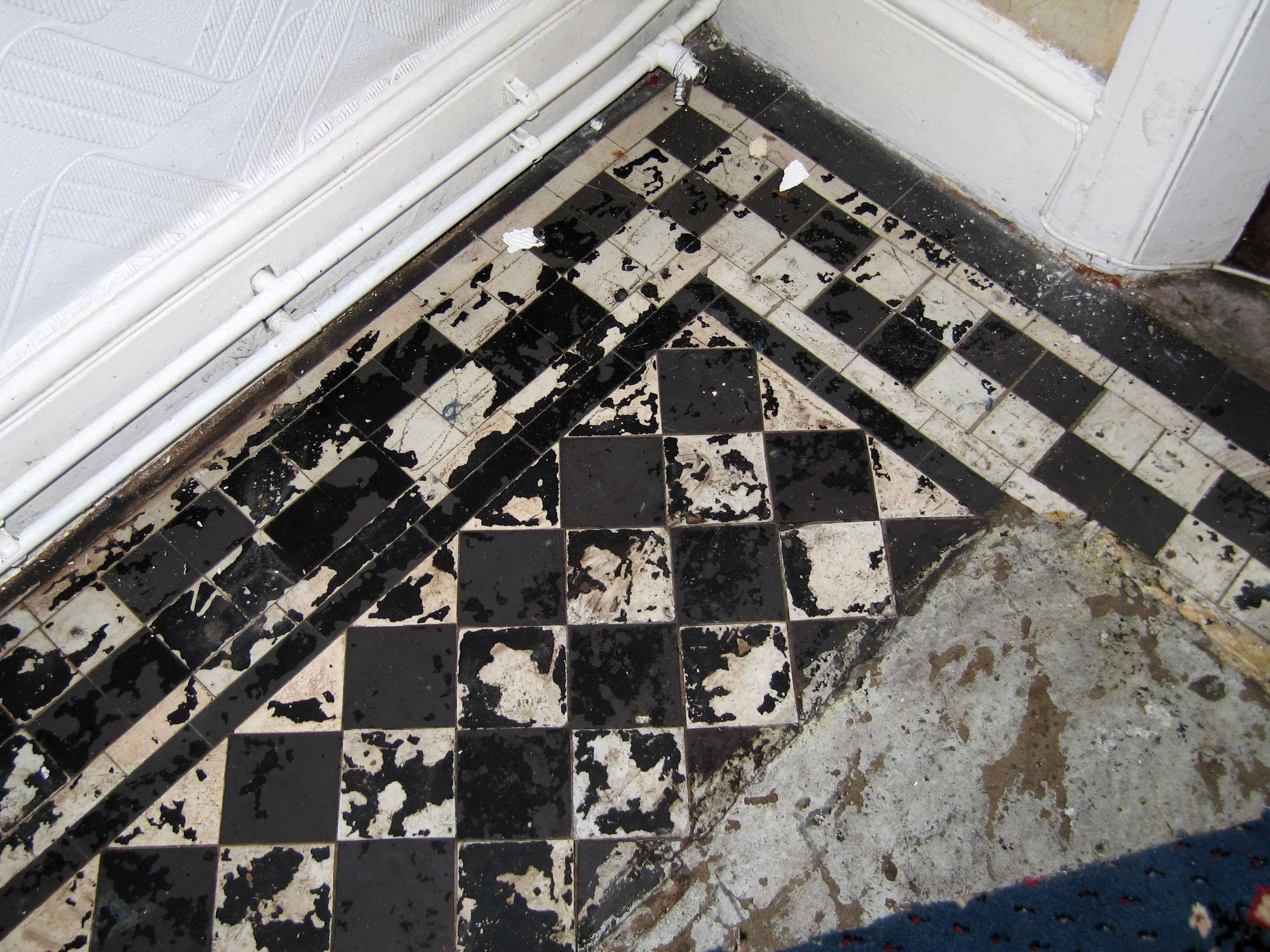 Black White Kitchen Floor Tiles Mvbjournal