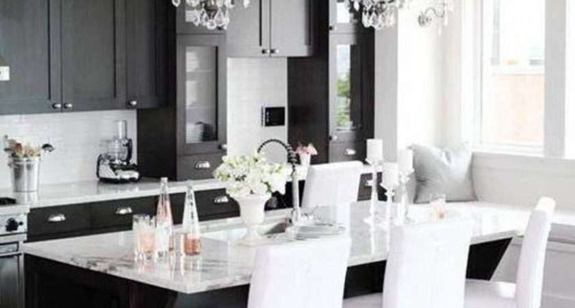 Black White Kitchen Ideas