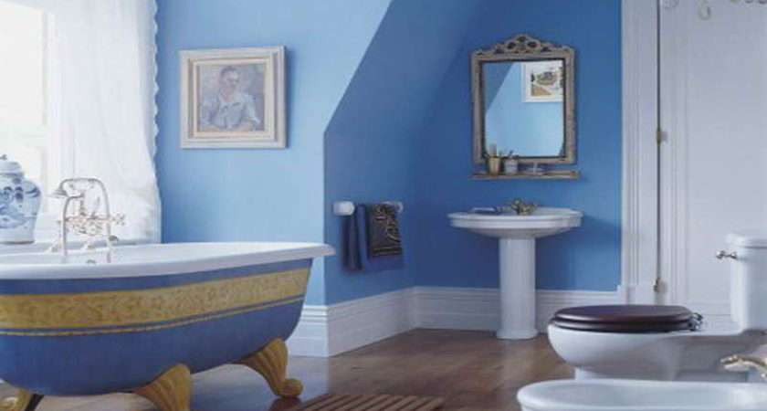 Blue Bathroom Ideas Ocean Brown Mediteranian