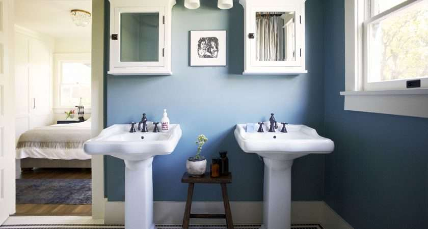 Blue Bathroom Inspire Your Remodel