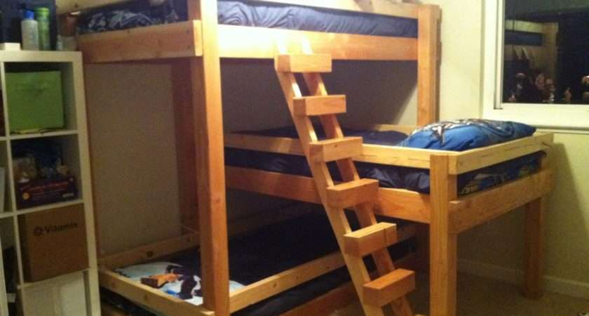 Blue Bed Sheet Ultimate Loft Ideas Bunk Beds