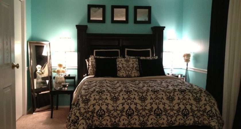 Blue Bedroom Yes Please Black White Bedrooms