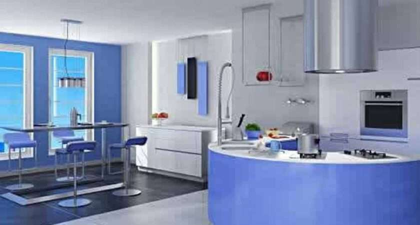 Blue Cabin Home Design House Interiors Painted Light Houses