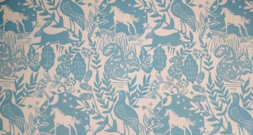 Blue Cotton Curtain Fabric Recommend Sample
