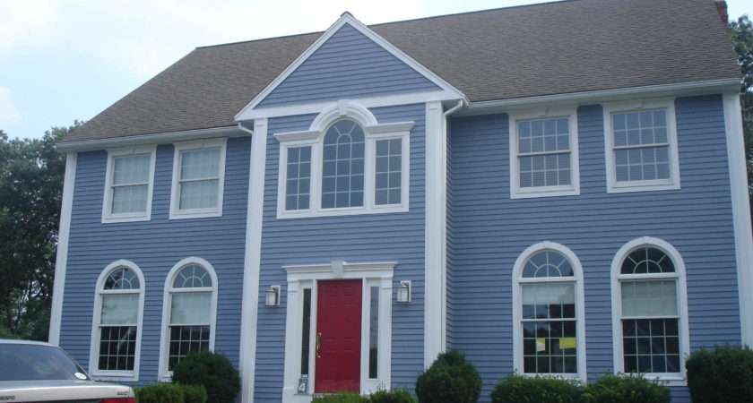 Blue House After Painting