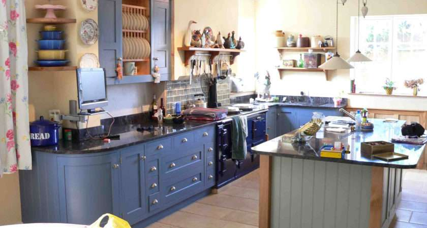 Blue Kitchen Decor Ideas Airtnfr