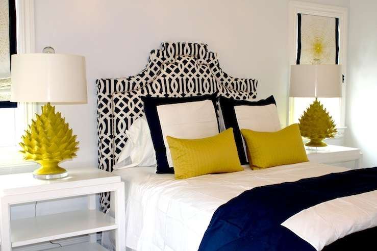 Blue Yellow Bedroom Contemporary Porter Design Company