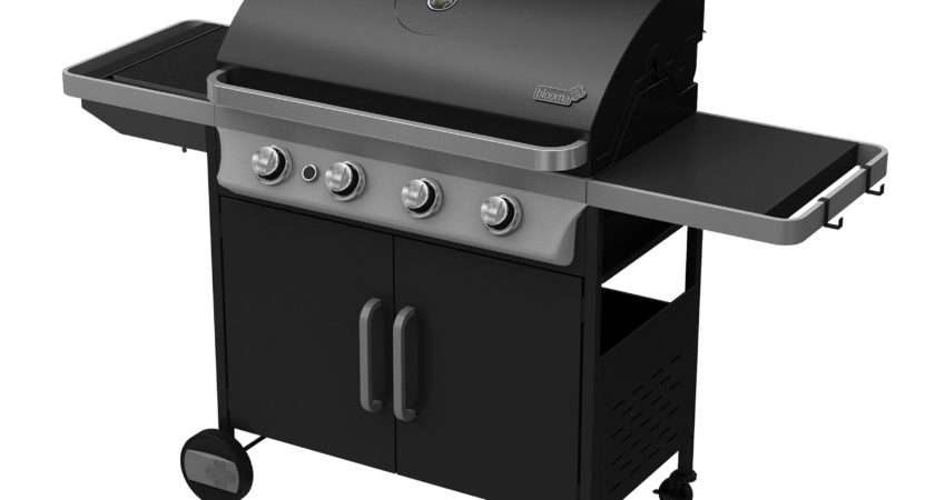 Bondi Burner Gas Barbecue Side