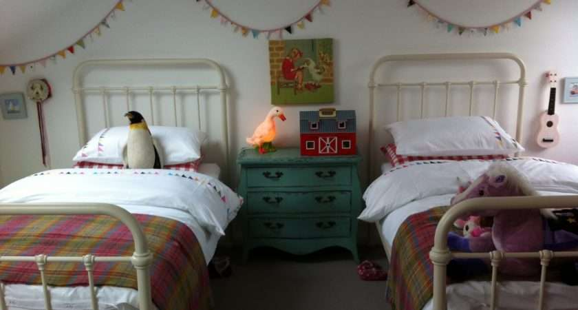 Boo Boy Vintage Inspired Shared Girls Room