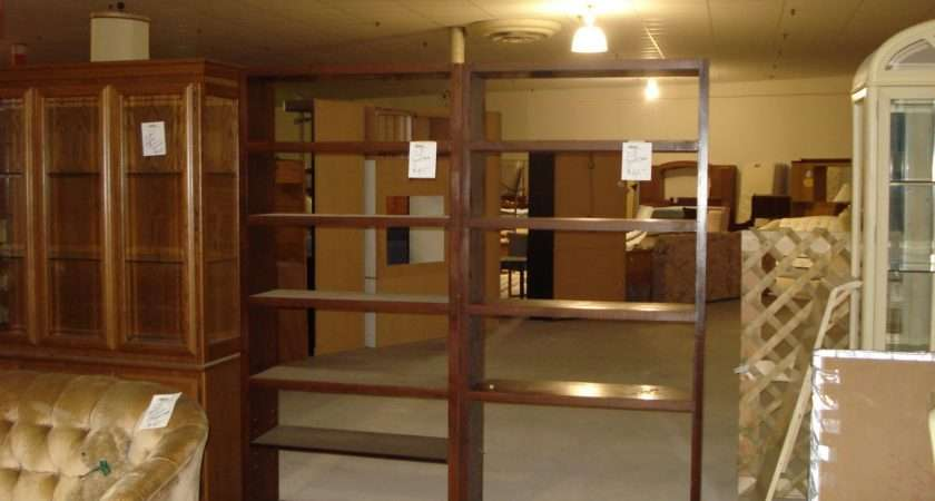 Bookcase Room Divider Pic Fly Open Back