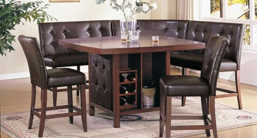 Booth Kitchen Pic Dinette Set