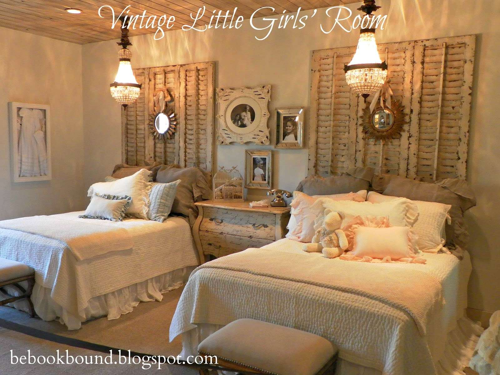 Bound Little House Prairie Vintage Bedroom Girls