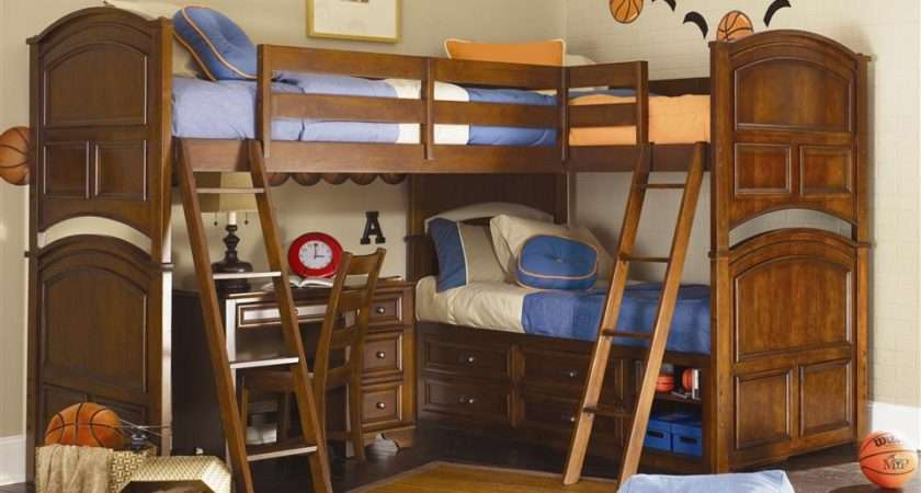 Boys Bedroom Decorating Ideas Bunk Beds