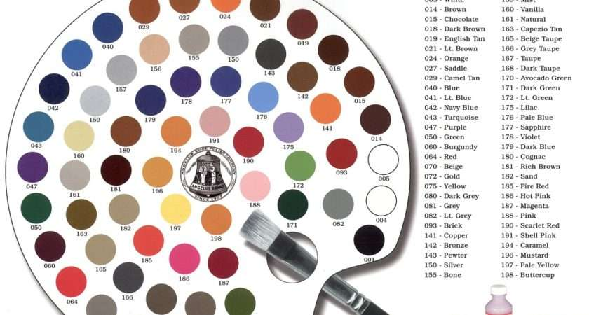 Brand Acrylic Leather Paint Colors Select Your Color Ebay