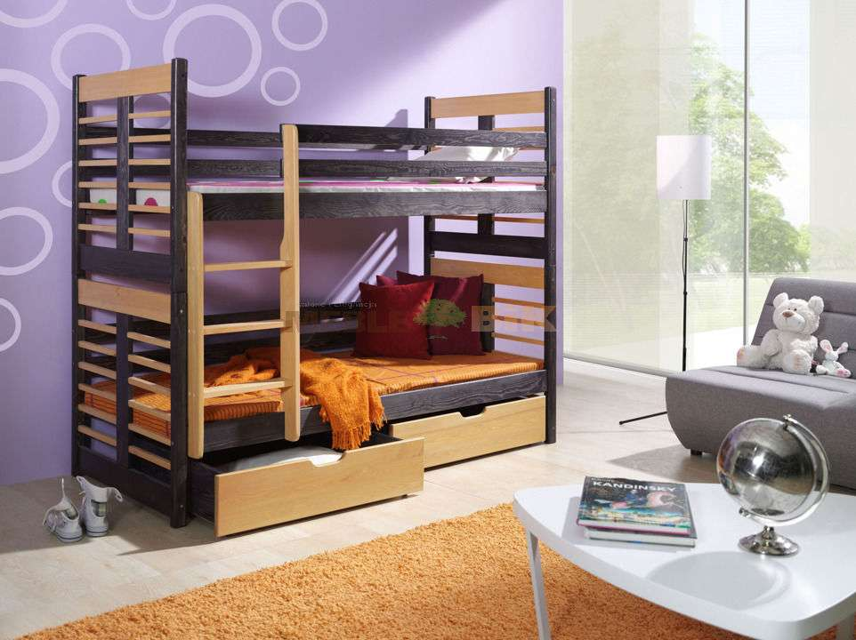 Brand New Kids Children Furniture Wooden Bunk Bed Augustyn Ebay
