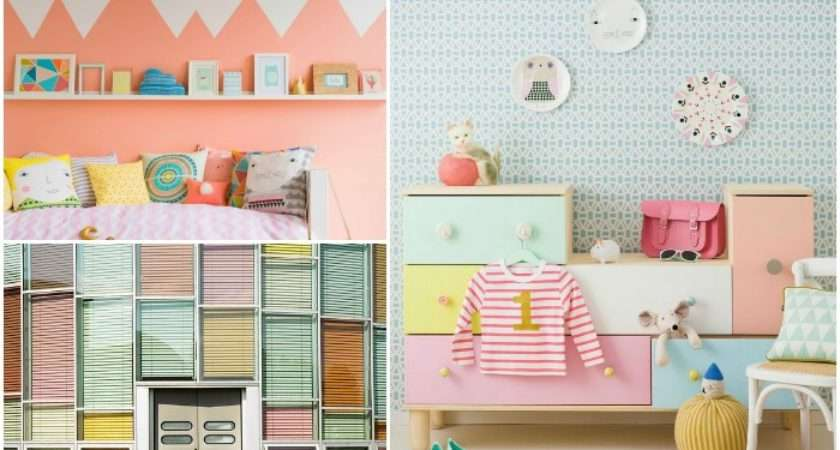 Bright Pastels Can Make Room Cheerful Inviting