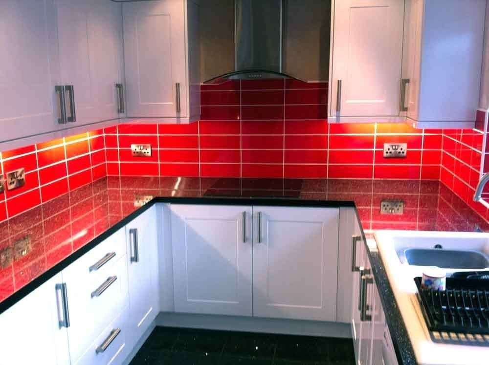 Brillo Red Brick Effect Wall Tiles Sqm Ebay