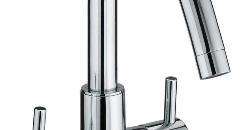 Bristan Prism Handle Basin Mixer Tap Swivel Spout