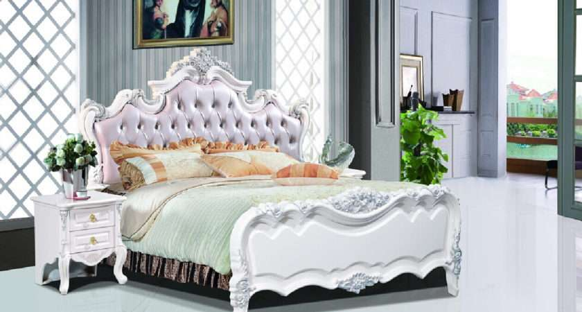 British Bedroom Neo Classical Bed Model New Home