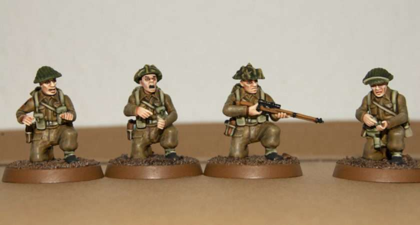 British Nwe Uniform Painting Guide Part Jackboots