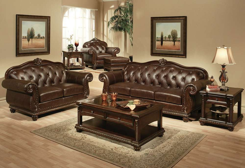 Brown Leather Furniture Decorating Ideas Design Blogmetro