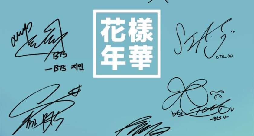 Btsgift Bts Group Signature