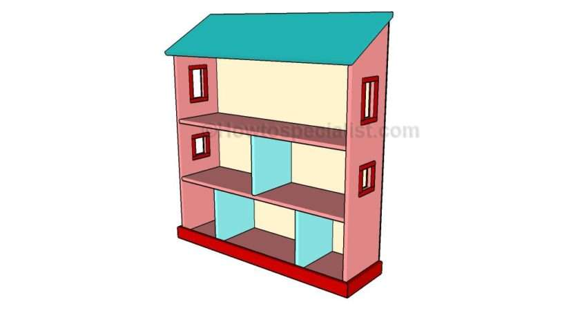 Build Dollhouse Bookcase Howtospecialist
