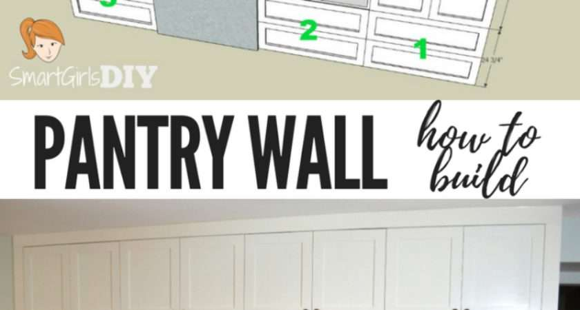 Build Pantry Wall Barker Cabinets