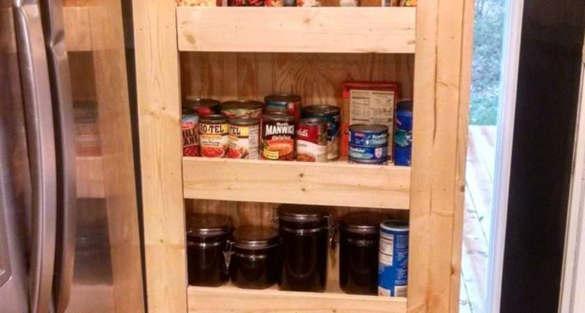 Build Rolling Pantry