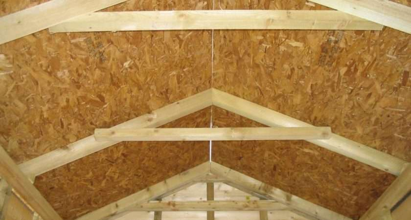 Build Shed Roof Out Pallets Sheds