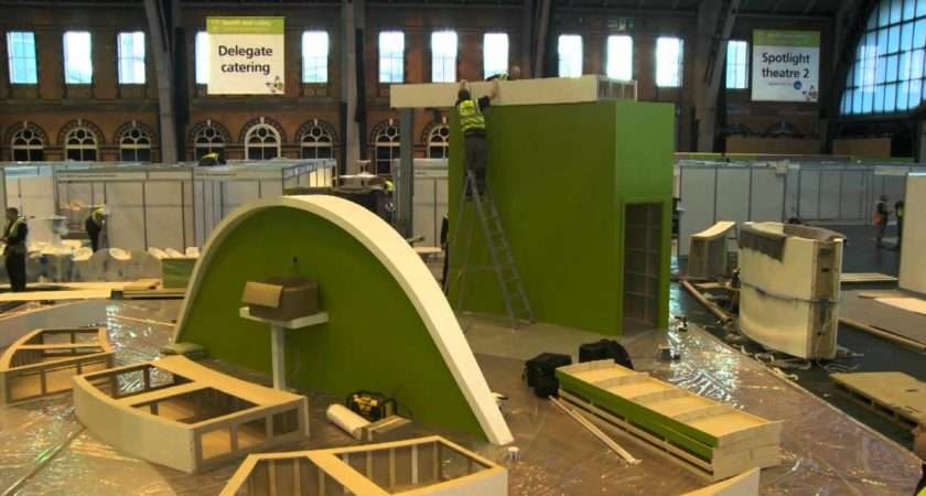 Build Sqm Exhibition Stand Under Hours Youtube