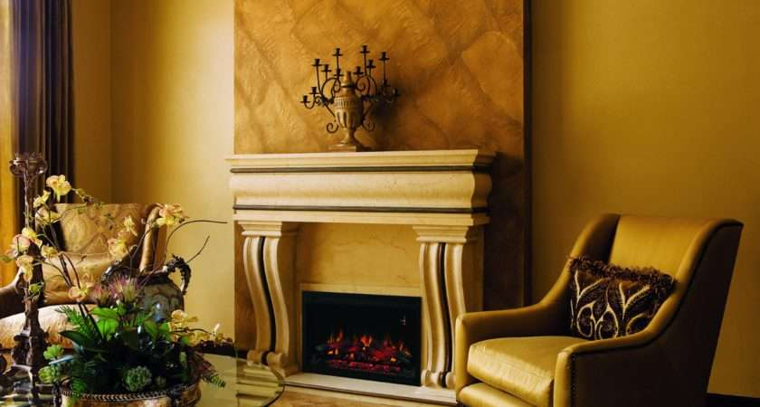 Builders Box Traditional Electric Fireplace Insert Has Realistic