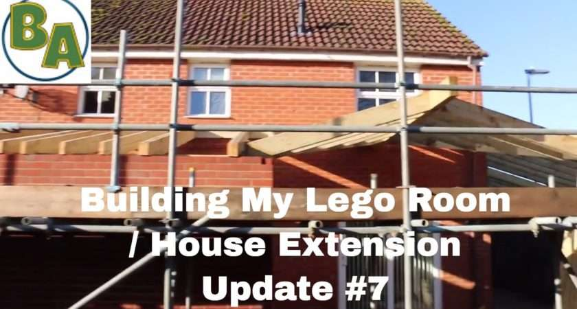 Building Lego Room House Extension Youtube