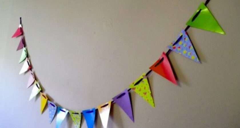 Bunting Banner Guide Patterns