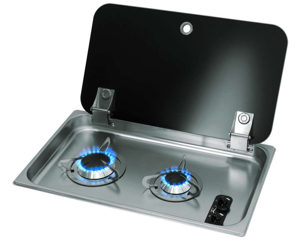 Burner Gas Hob Unit Caravans Campervans