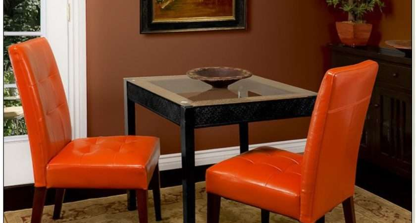 Burnt Orange Leather Dining Room Chairs Home
