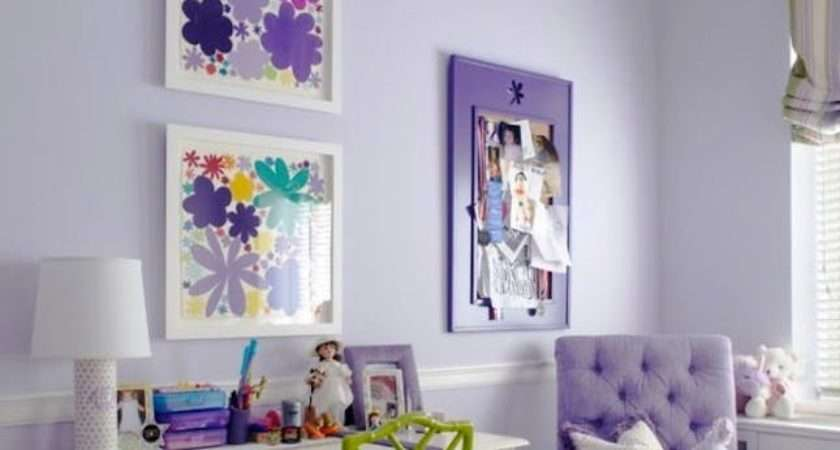 Burst Green Refresh Purple Room Complementary Colors