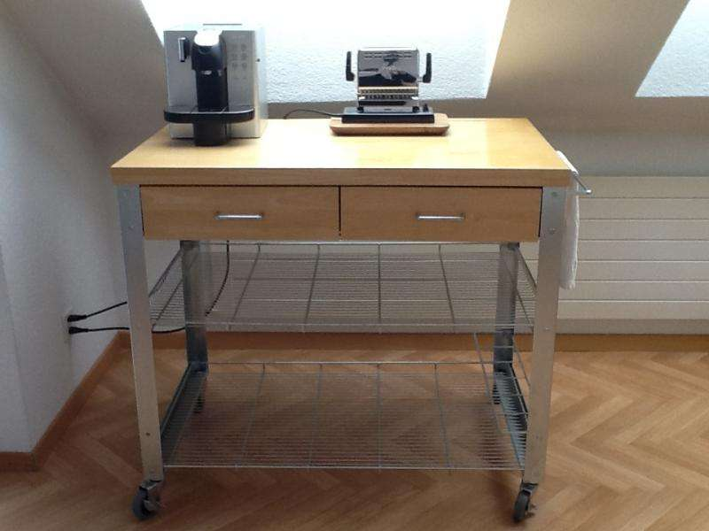 Butcher Block Kitchen Cart Wheels Chf Zurich English
