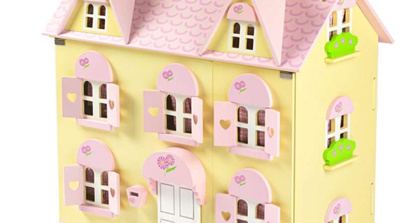 Butterbee Cottage Children Wooden Dolls House