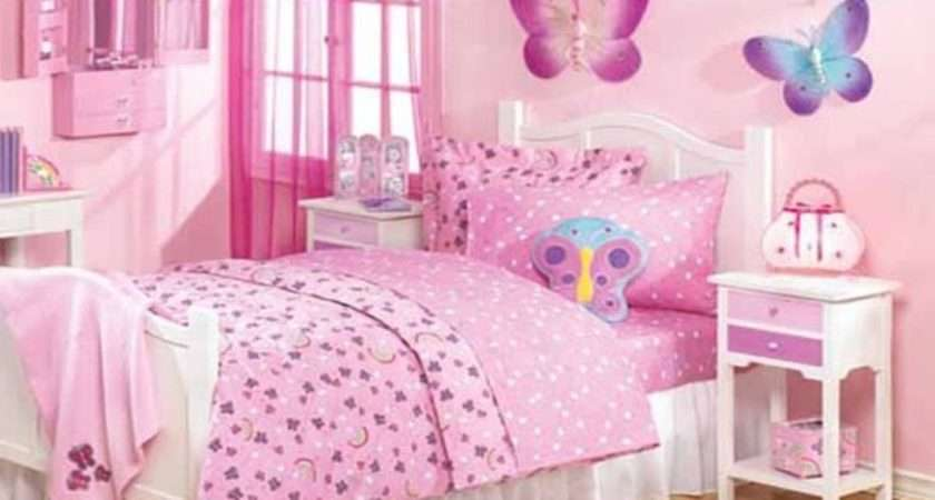 Butterfly Girls Bedroom Ideas Home Decorating